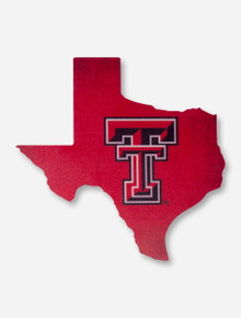 "Texas Tech Red Raiders ""Home State"" Wood Sign"