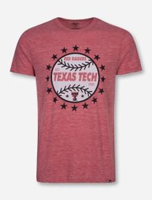 "Texas Tech Red Raiders Baseball ""Rematch"" Heather Red T-Shirt"