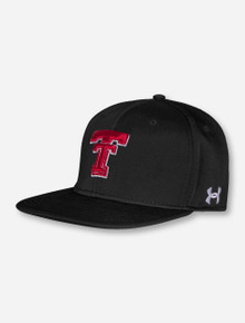 "Under Armour Texas Tech 2017 ""On the Field"" Throwback Black Fitted Cap"