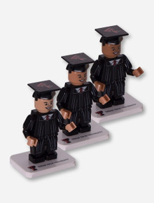 Lego Compatible Texas Tech Red Raiders Male Graduate Minifig