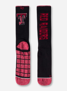 "47 Brand Texas Tech Red Raiders ""Desmond"" Hybrid Crew Socks"