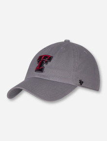 "47 Brand Texas Tech ""Storm Clean Up"" YOUTH Grey Cap"