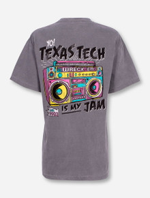 "Texas Tech Red Raiders ""It's My Jam"" Grey T-Shirt"