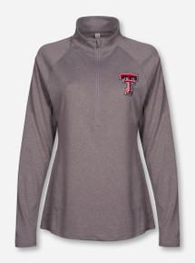 Under Armour Texas Tech Women's Lightweight Grey Quarter Zip