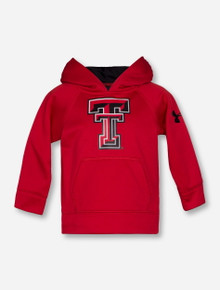Under Armour Texas Tech Double T INFANT Red Hoodie