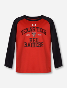 Under Armour Texas Tech Red Raiders TODDLER Red & Black Long Sleeve