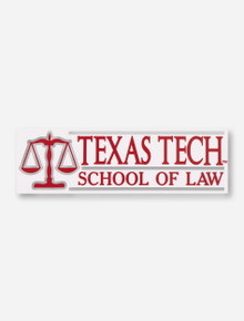 Texas Tech School of Law Red Decal