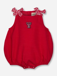 "Garb 2017 Texas Tech ""Mabel"" INFANT Red Onesie"