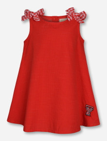 "Garb 2017 Texas Tech ""Mabel"" TODDLER Red Dress"
