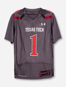 Under Armour Texas Tech Replica #1 YOUTH Jersey