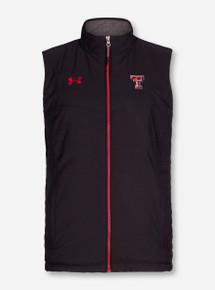 Under Armour Texas Tech Double T Puff Black Vest