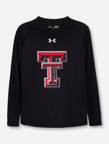 Under Armour Texas Tech Double T YOUTH Long Sleeve