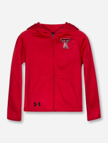 Under Armour Texas Tech Double T YOUTH Full Zip Hoodie