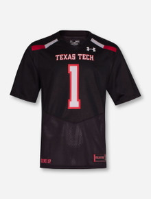 Under Armour Texas Tech Red Raiders #1 Sideline Jersey