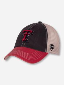 Top of the World Texas Tech Double T Mesh Snapback Cap