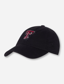 Top of the World Texas Tech Rhinestone Outlined Double T Adjustable Cap