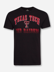 Arena Texas Tech Arch Over Double T Over Red Raiders T-Shirt