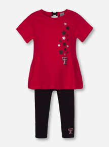 "Arena Texas Tech Red Raiders ""Shot Put"" INFANT Dress and Pants Set"