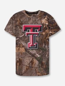 "Arena Texas Tech Red Raiders ""Draw"" Camo T-Shirt"