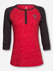"Arena Texas Tech Red Raiders ""Slopestyle"" 3/4 Sleeve"