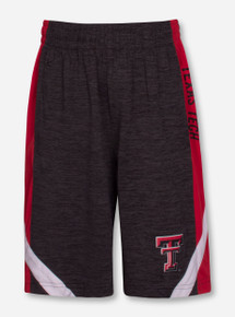 """Arena Texas Tech Red Raiders """"Setter"""" YOUTH Gym Shorts"""