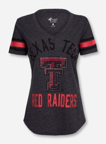 "Texas Tech Red Raiders ""In The Finals"" V-Neck T-Shirt"