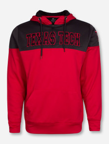 "Arena Texas Tech Red Raiders ""Tipster"" Quarter Zip Hoodie"