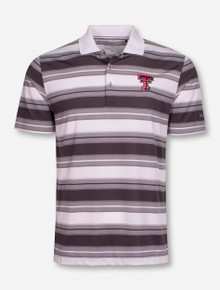 "Columbia Texas Tech Red Raiders ""Level Stripe"" Polo"