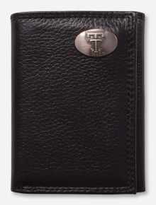 Texas Tech Red Raiders Tri-Fold Pebble Grain Wallet