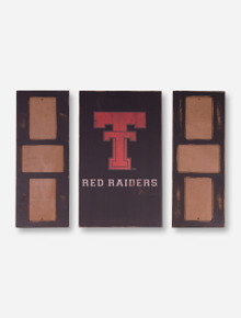 Texas Tech Red Raiders 3 Piece Frame with Vault Logo