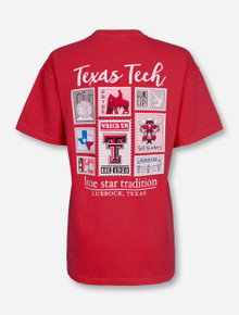 "Texas Tech Red Raiders ""Stamped Out"" T-Shirt"