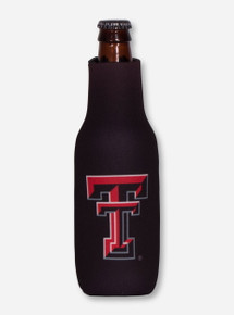 Texas Tech Red Raiders Double T Zippered Bottle Koozie