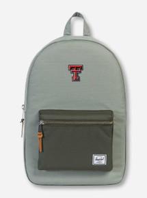 """Herschel Texas Tech Red Raiders """"Settlement"""" Green Backpack"""