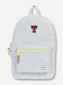 "Herschel Texas Tech Red Raiders ""Settlement"" Grey & Neon Backpack"