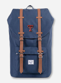 "Herschel Texas Tech Red Raiders ""Little America"" Navy Backpack"