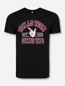 "Texas Tech Red Raiders ""Vintage MVP Guns Up"" T-Shirt"