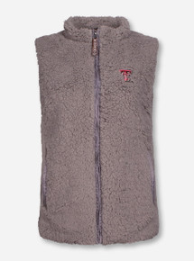 "Texas Tech Red Raiders ""Sherpa"" Plush Fur Vest"