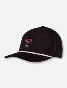 "Imperial Texas Tech Red Raiders ""Harris"" Double T Snapback Cap"