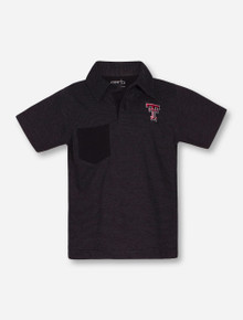 "Texas Tech Red Raiders Garb ""Declan"" TODDLER Striped Polo"