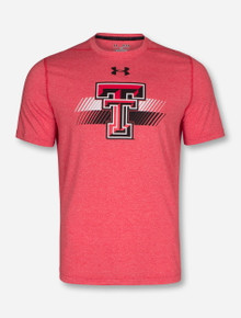 Texas Tech Red Raiders Under Armour Double T Faded Bar T-Shirt