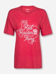 "Texas Tech Red Raiders Pressbox ""It's a Red Raider Thing"" T-Shirt"