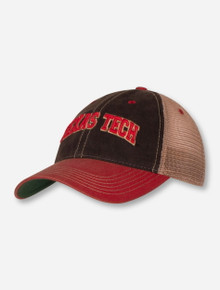 "Legacy Texas Tech Red Raiders ""Two-Tone Arch"" Trucker Snapback Cap"