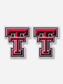 Texas Tech Red Raiders Double T 2 Pack Magnets