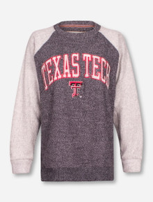 "Pressbox Texas Tech Red Raiders ""Heidi"" Raglan Sweatshirt"