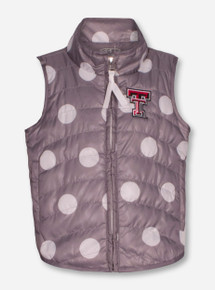 "Garb Texas Tech Red Raiders ""Alexandra"" INFANT Polka Dot Vest"