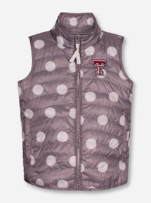 "Garb Texas Tech Red Raiders ""Alexandra"" YOUTH Polka Dot Vest"