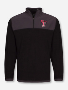 Arena Texas Tech Red Raiders Blocker Corded Polar Fleece Quarter Zip Pullover COUJ10534