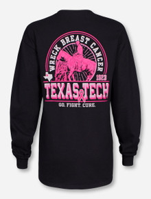 "Texas Tech Red Raiders ""Will Rogers"" Breast Cancer Awareness Long Sleeve"