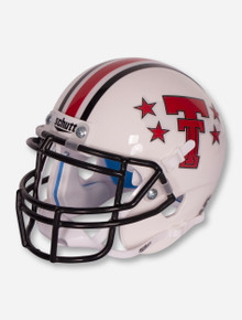 Schutt Texas Tech Red Raiders Throwback Stars Mini Helmet