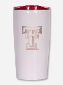 Texas Tech Red Raiders Double T Etched 20oz Tumbler